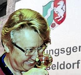 Schavan vor dem Verwaltungsgericht Düsseldorf