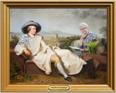 Schavan im Gespräch mit Goethe