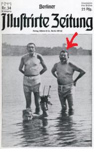 Der Reichspräsident in der Badehose